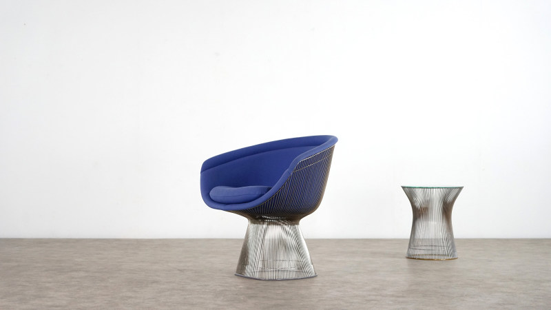 Warren Platner Chair sideview right