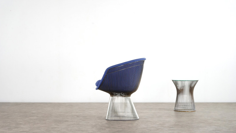 Warren Platner Chair left side