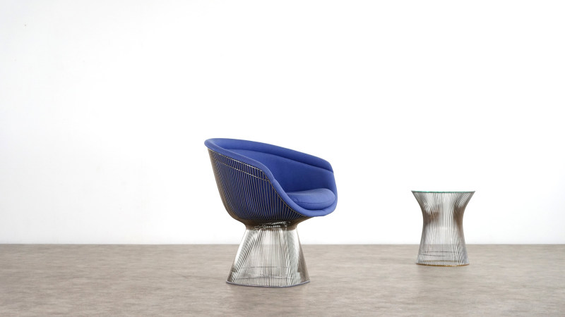 Warren Platner Chair sideview 2