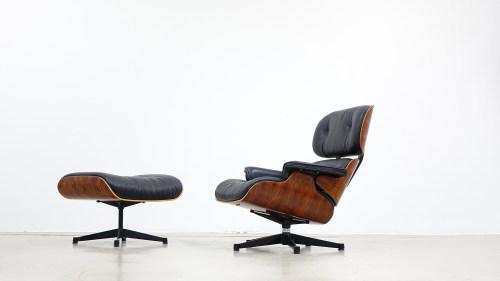 Eames Lounge Stoel : Charles ray eames lounge chair ottomane zorrobot