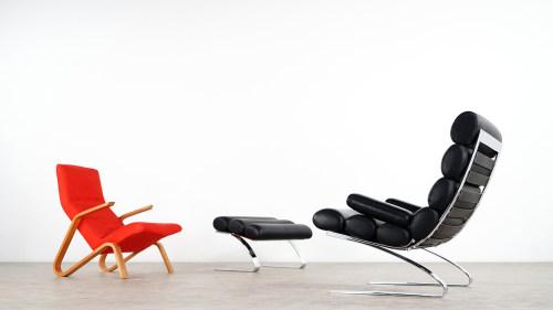 cor sinus lounge chair ottoman 2015 edition - Bergroer Sessel Und Ottomane