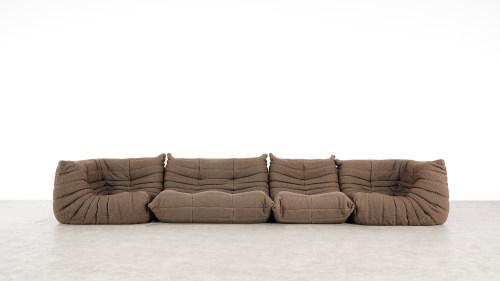 togo sofa ligne roset front view