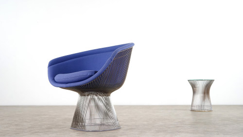 Warren Platner Chair sideview