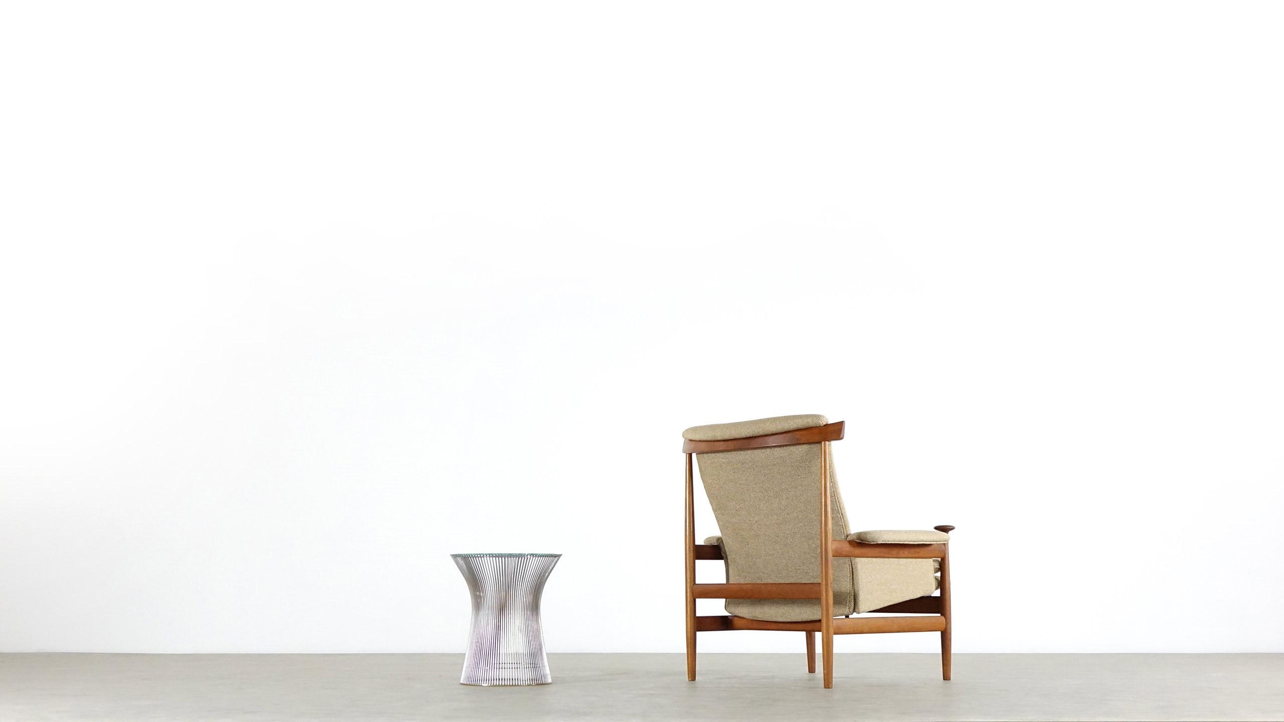 bwana teak lounge chair by finn juhl for france son
