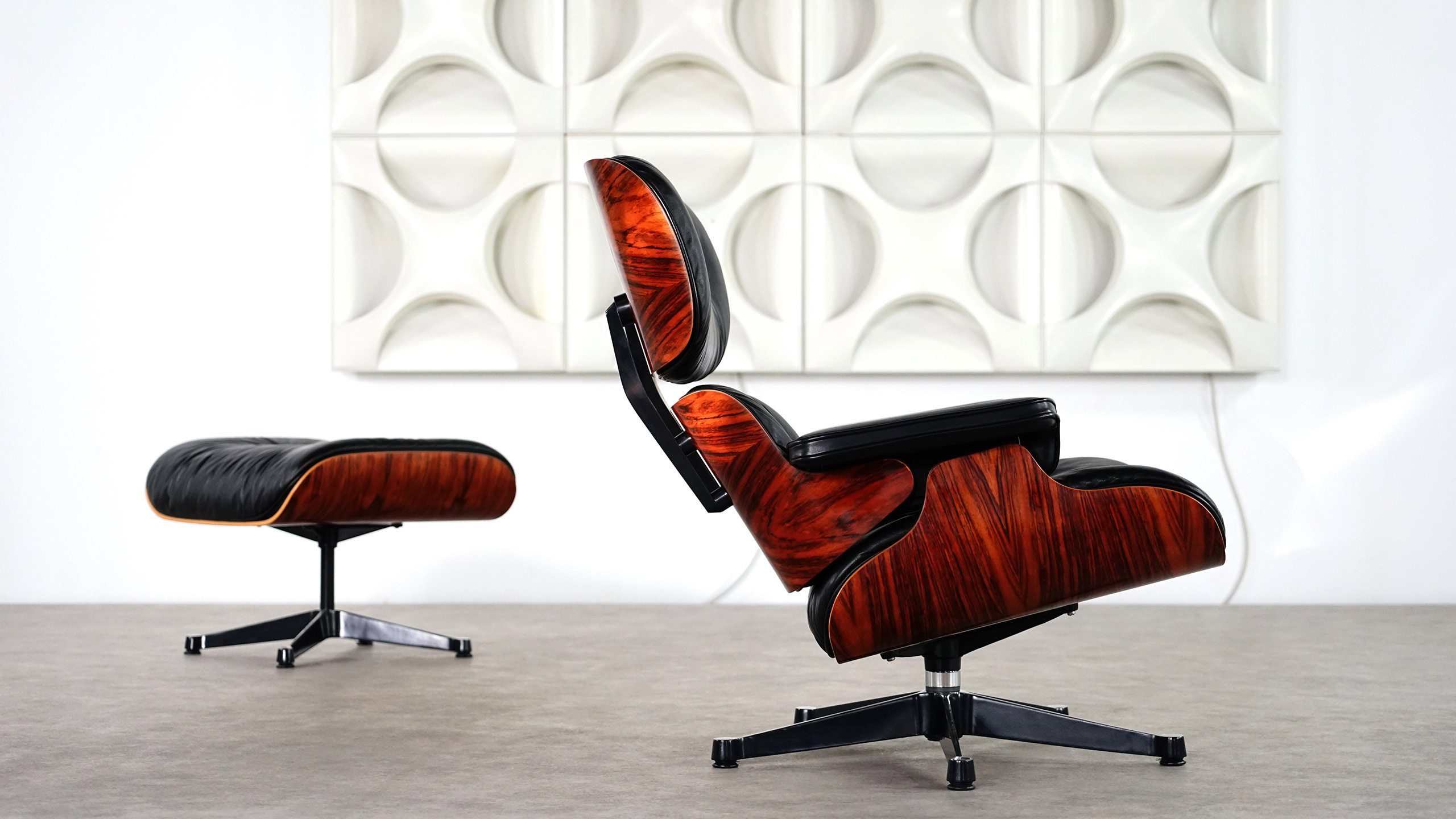Eames Vitra Lounge Chair charles eames lounge chair ottoman by vitra