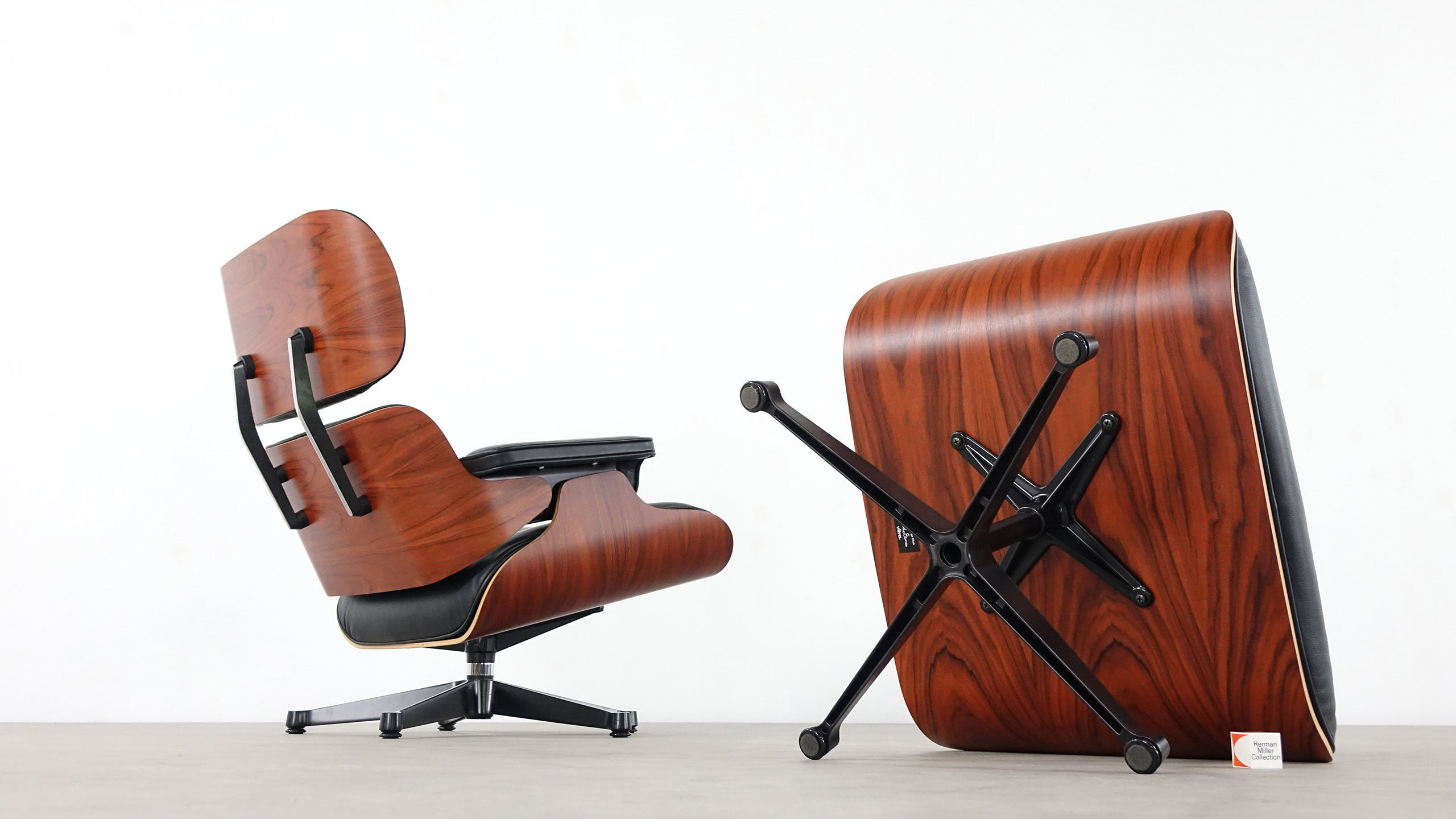 Charles eames lounge chair by vitra for Charles eames lounge chair nachbildung