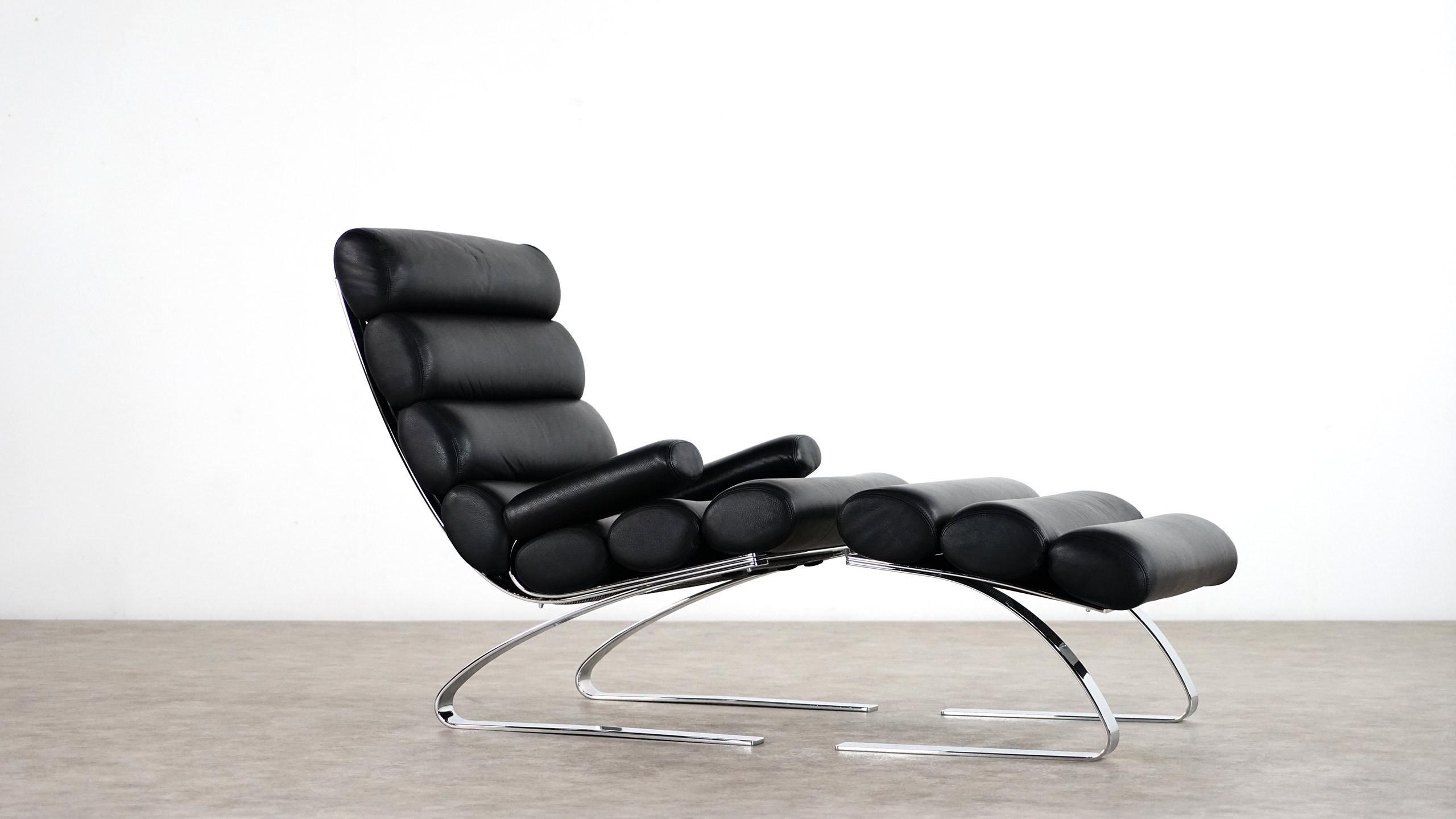 cor sinus lounge chair ottoman 1976. Black Bedroom Furniture Sets. Home Design Ideas