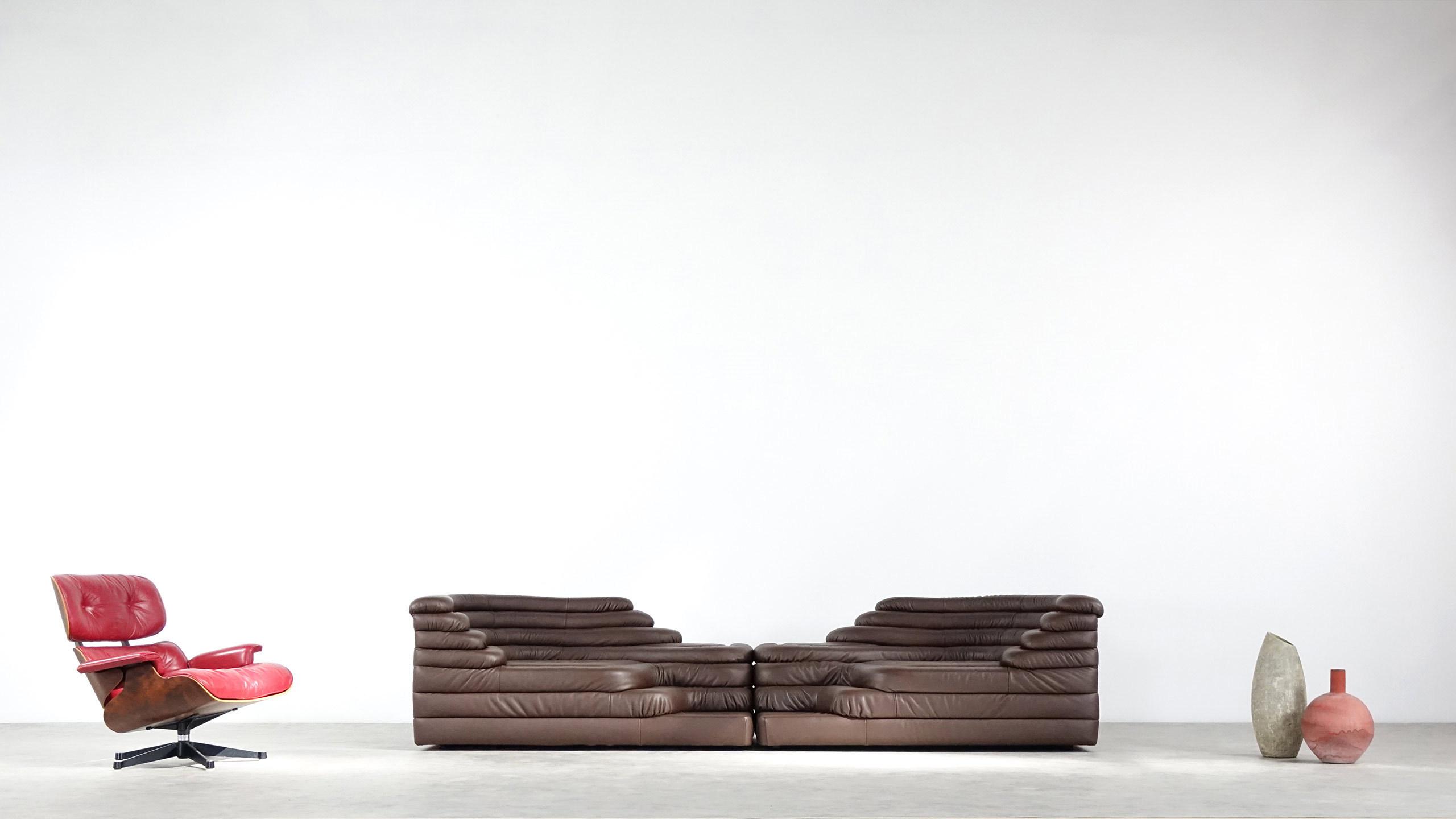 De Sede 2x Terrazza Sofa Ubald Klug Ds 1025