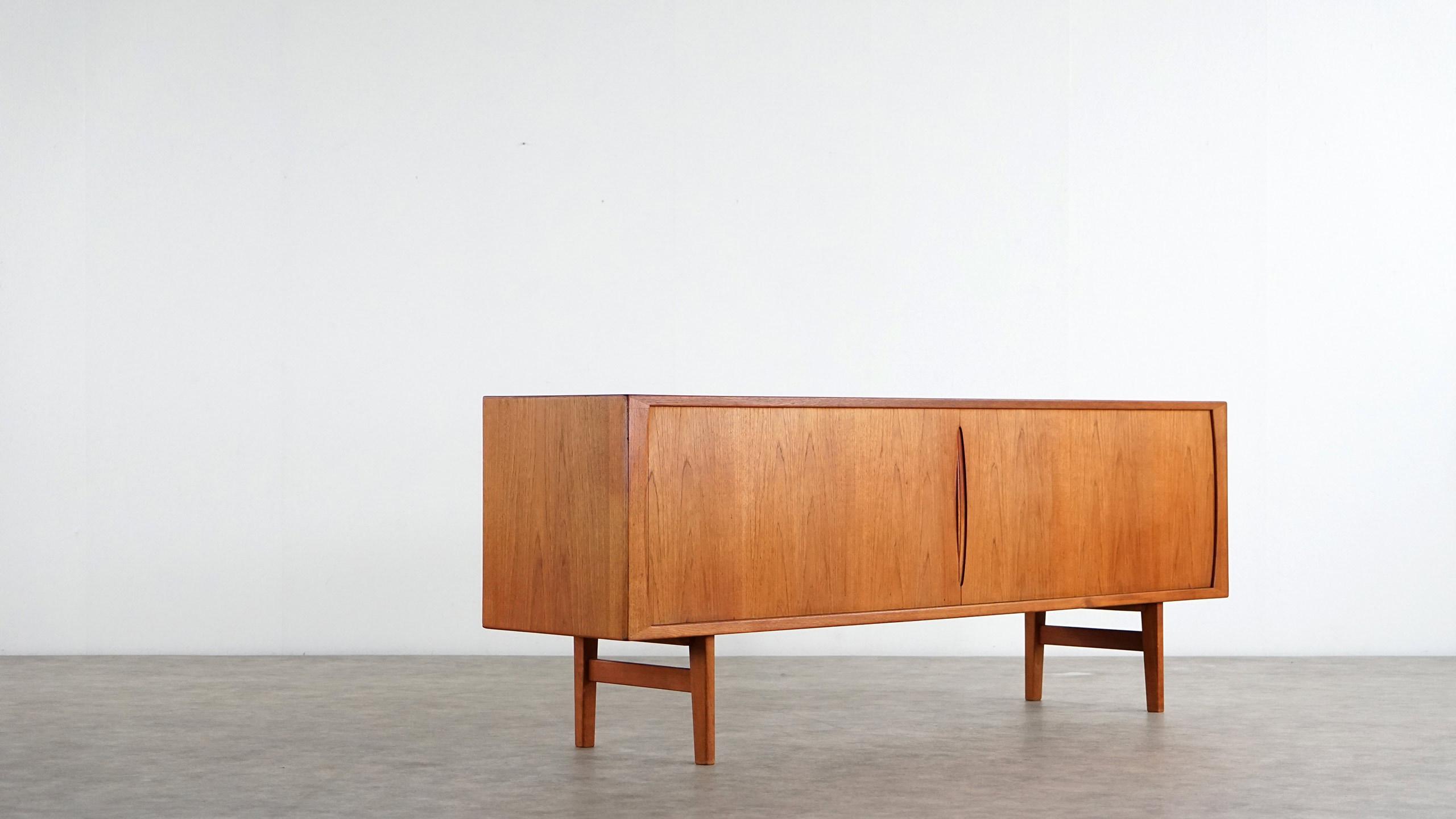Henning Kjrnulf Teak Sideboard Bruno Hansen Danish Modern