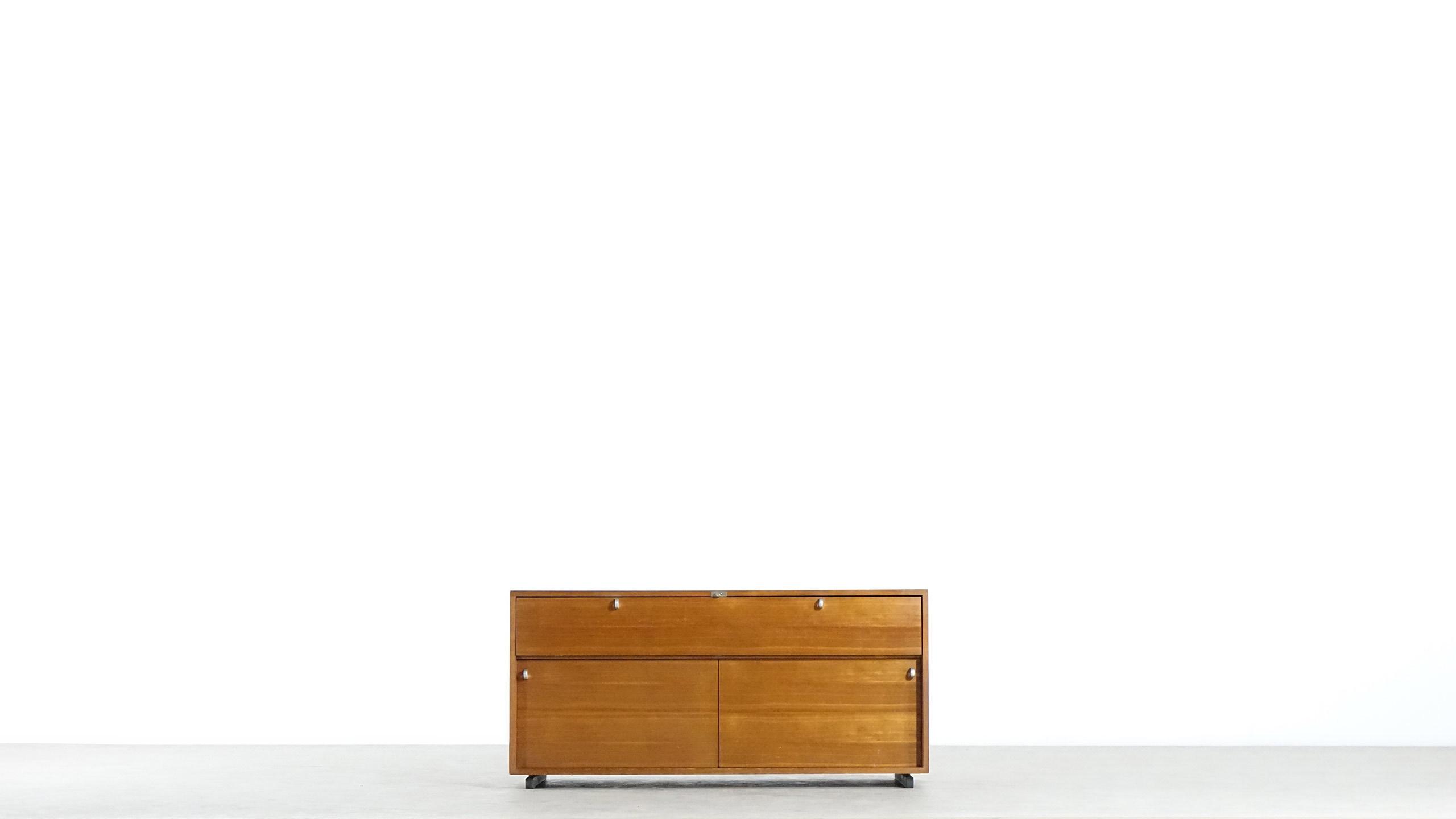 Herbert Hirche Executive Sideboard Top Series Holz 228 Pfel