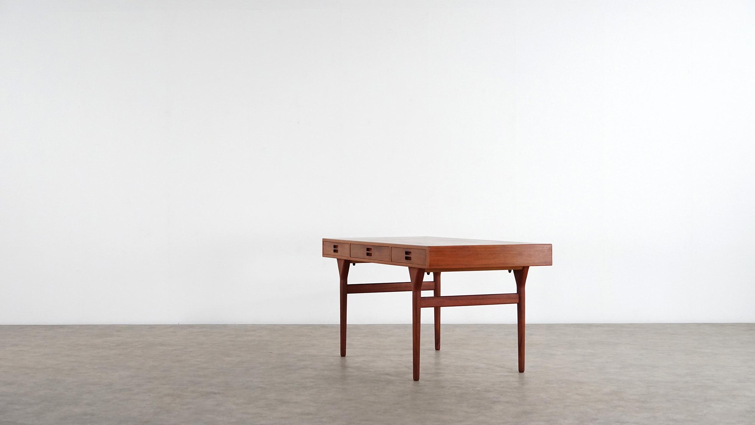 Nanna Ditzel Schreibtisch In Teak 1958 S 248 Ren Willadsen