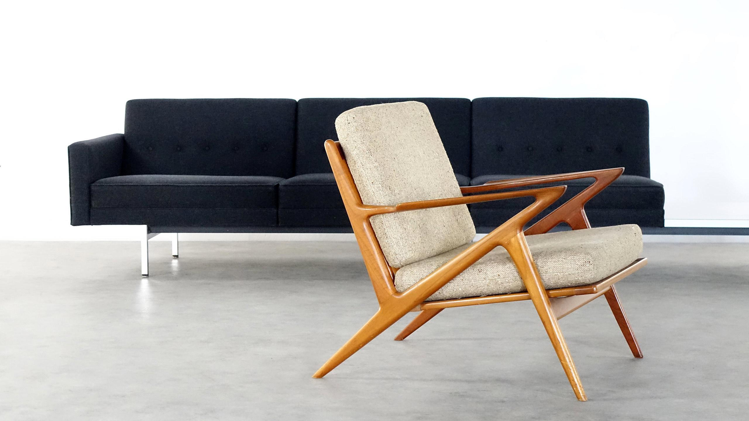 Dimensions W 29 92 Inch H 31 10 D 33 46 76 Cm 79 85 Designer Poul Jensen Manufacturer Haslev Denmark 2600