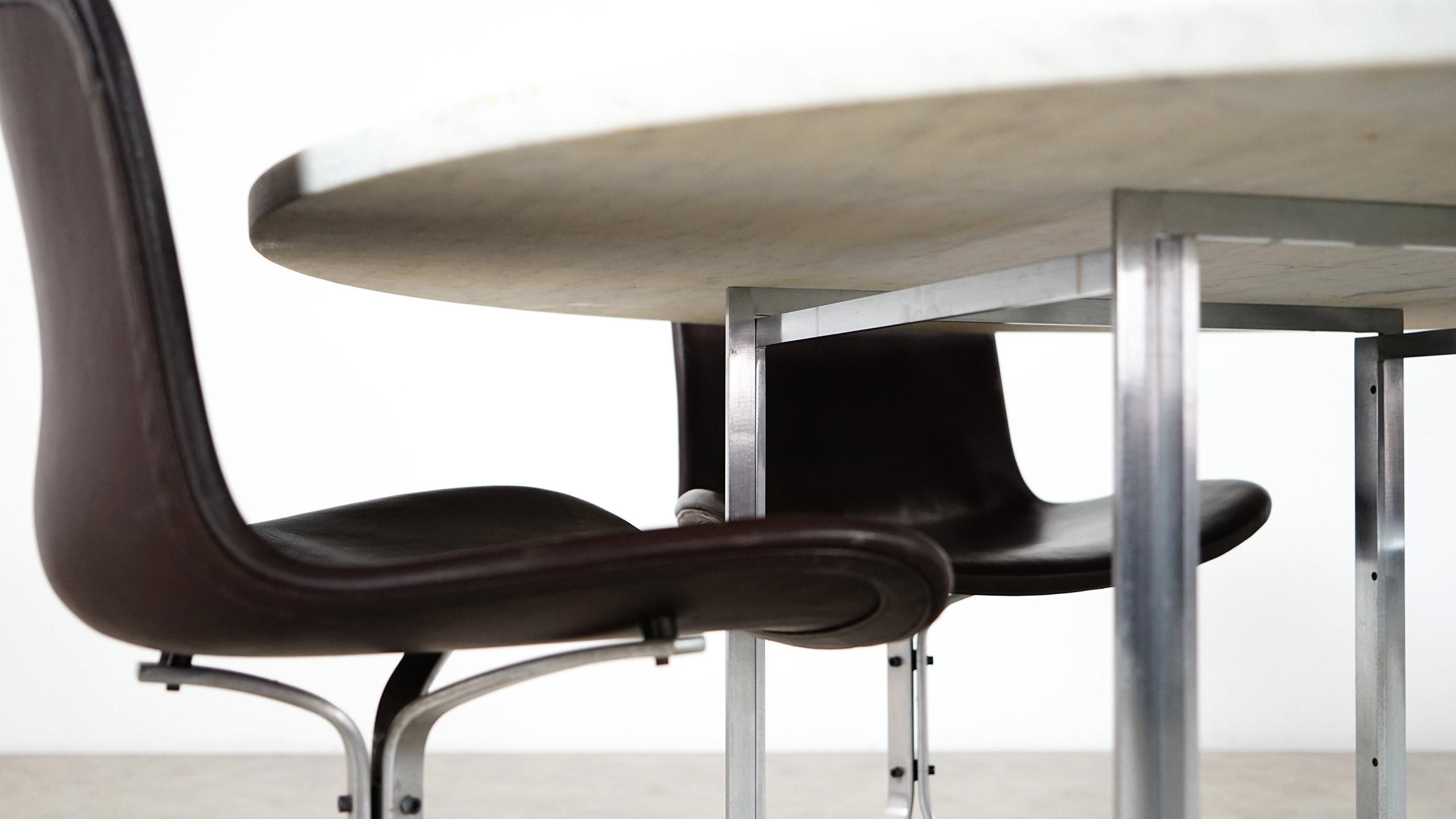 Poul Kjaerholm Pk 54 Dining Table For Fritz Hansen