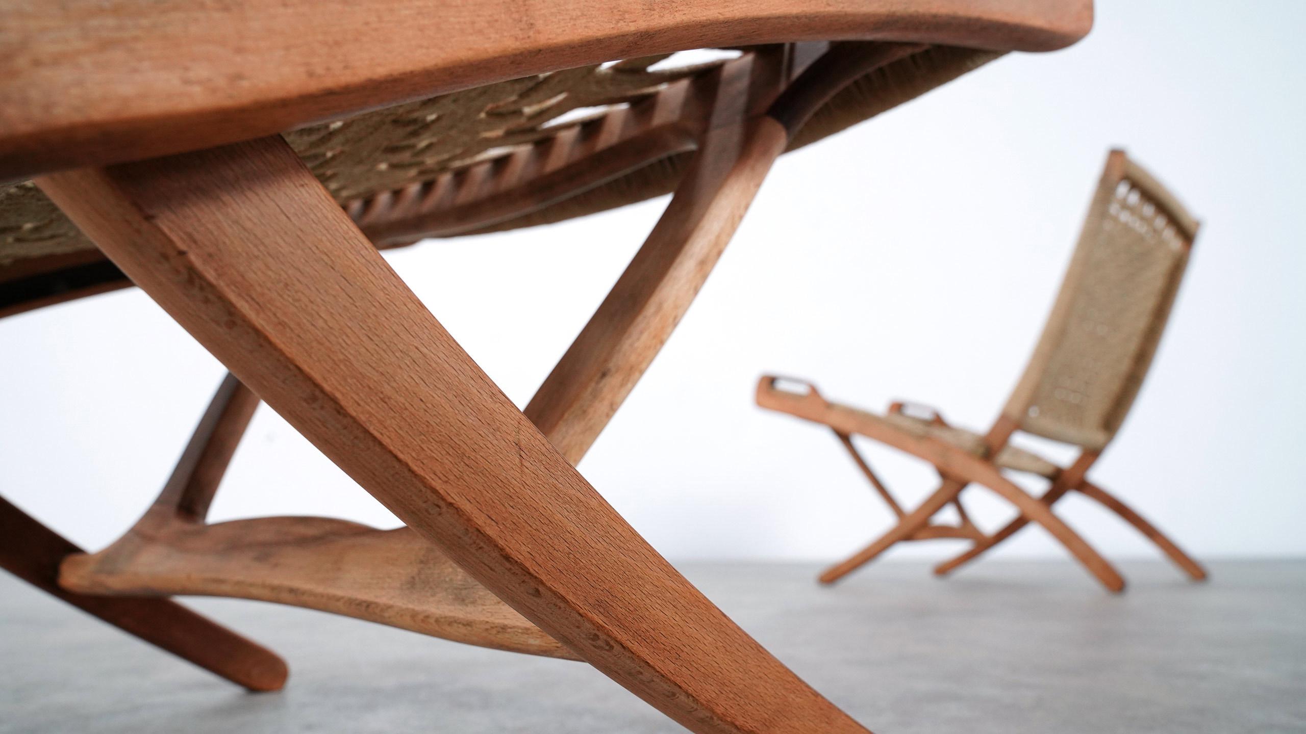 Consider, vintage hans wegner folding chair