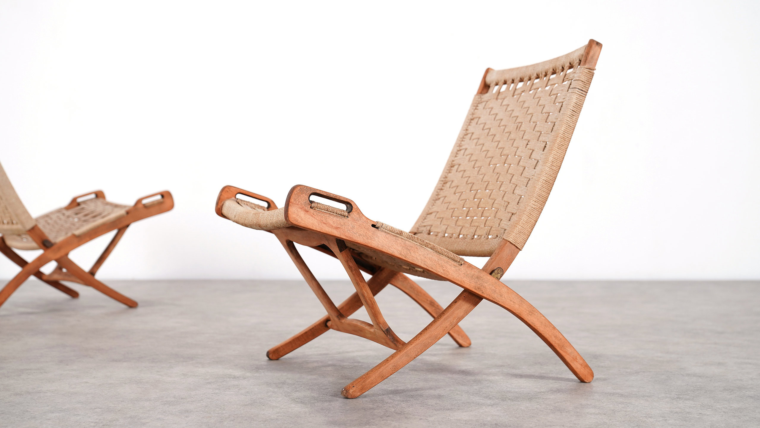 Magnificent Hans J Wegner Style Folding Chair Pabps2019 Chair Design Images Pabps2019Com